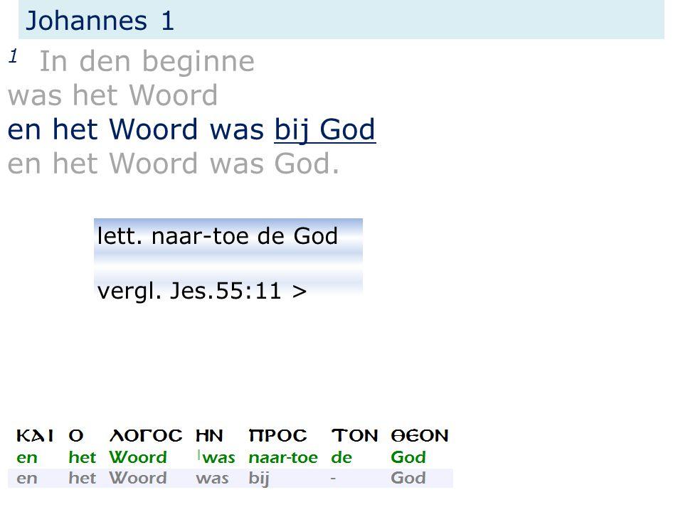 Het Evangelie Naar Johannes Studie 1 19 Februari 2015 Bodegraven