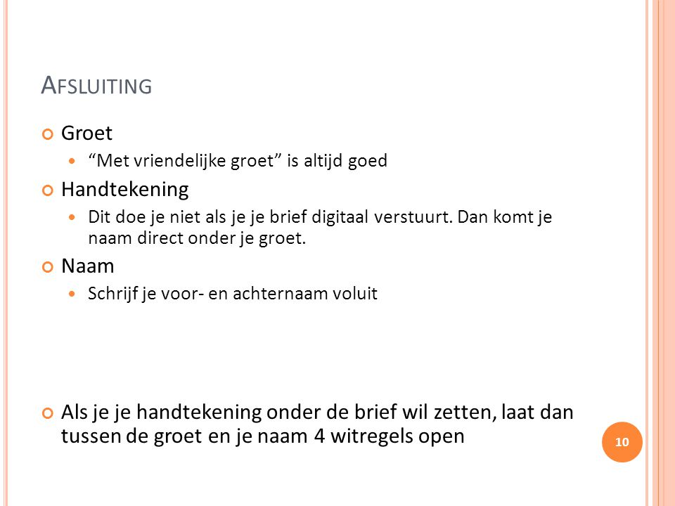 witregels sollicitatiebrief Motivatiebrief Stage Regels en tips.   ppt video online download witregels sollicitatiebrief