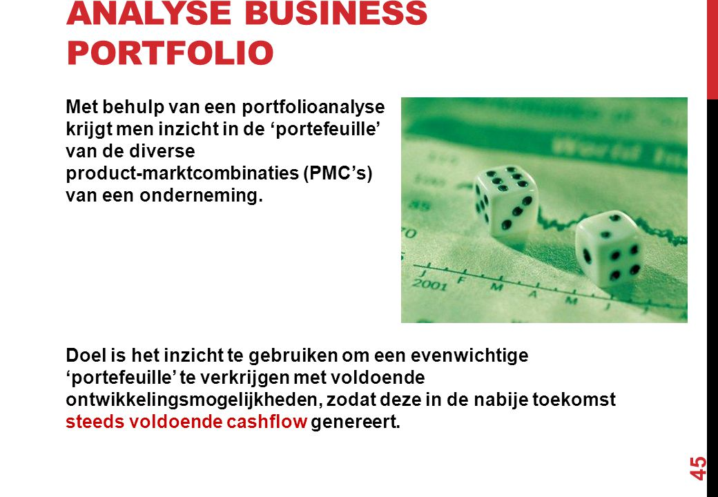 Analyse Business Portfolio