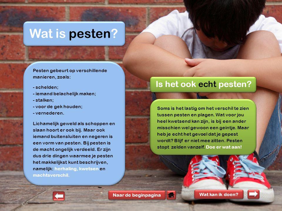 Wat Te Doen Bij Pesten Op Het Roc Van Twente Ppt Download