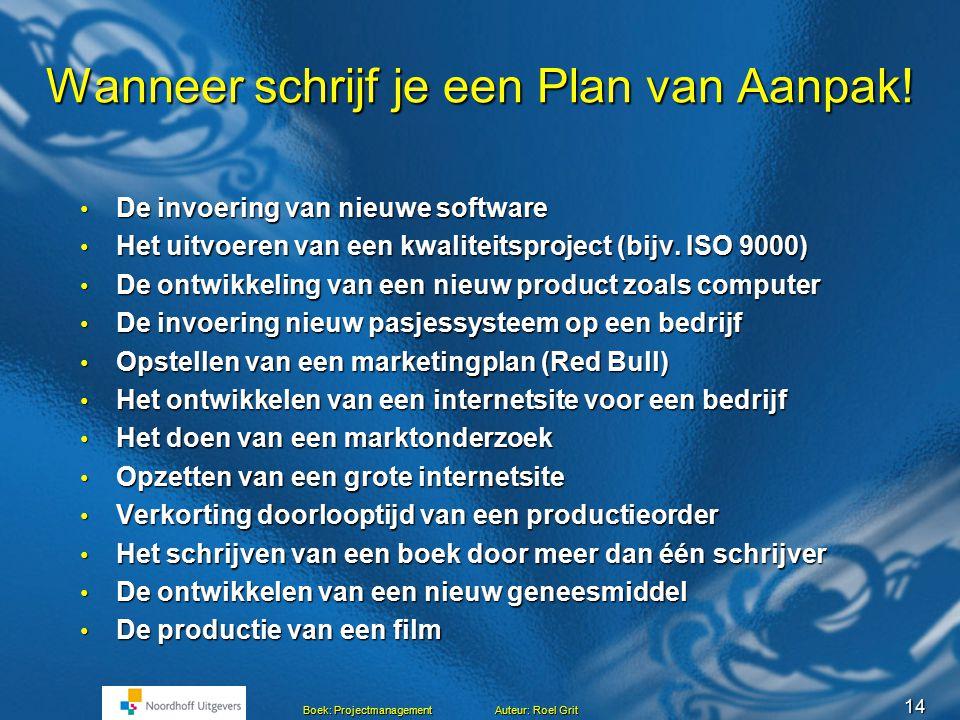 wanneer plan van aanpak opstellen Plan van Aanpak.   ppt download wanneer plan van aanpak opstellen