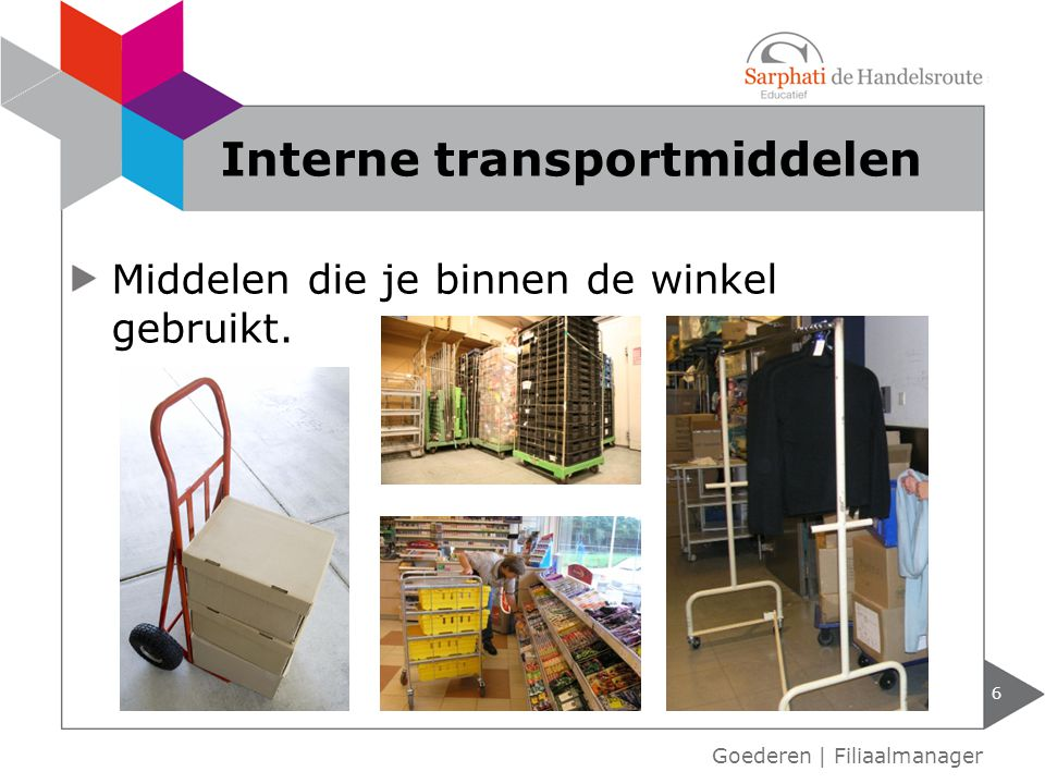 Interne transportmiddelen