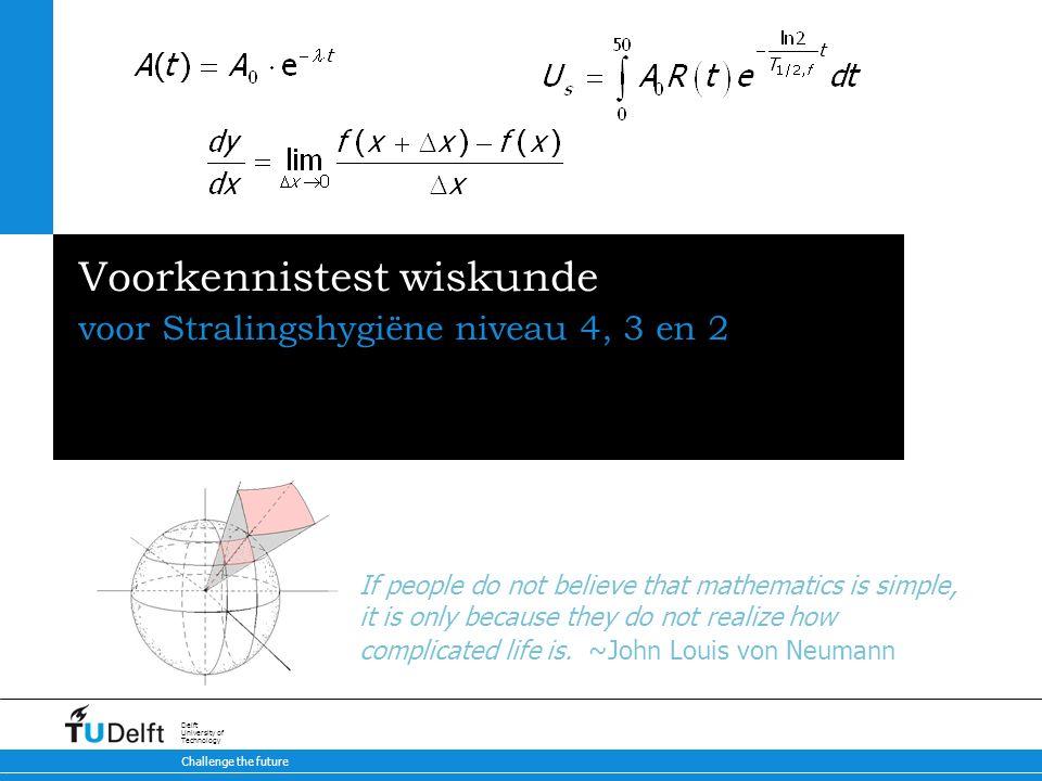 Voorkennistest Wiskunde Ppt Download