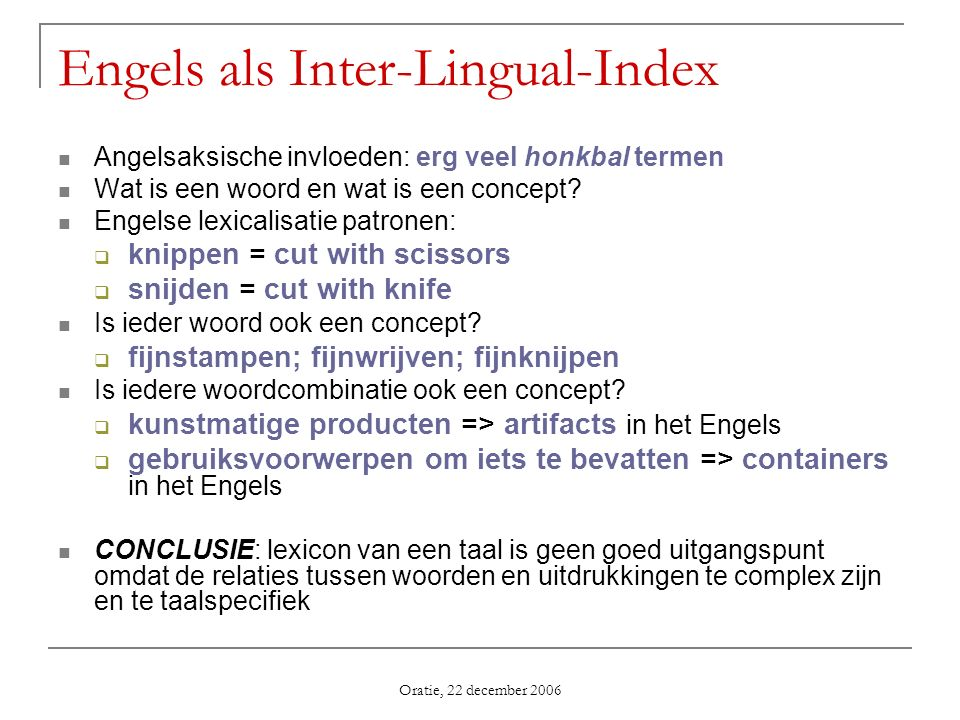 Engels als Inter-Lingual-Index