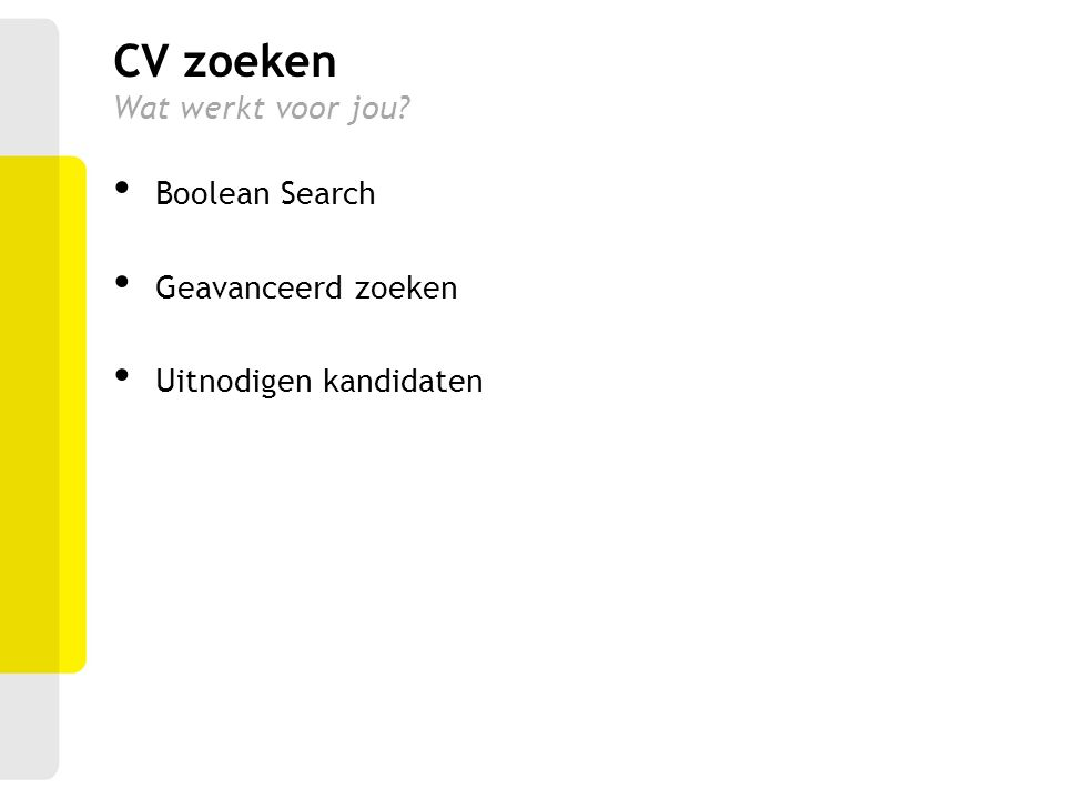 cv zoeken Herenbos Personeelsdienst   ppt download