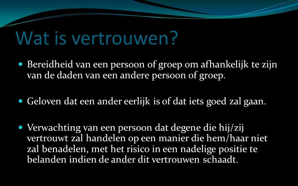 Fonkelnieuw Vertrouwen. - ppt video online download KT-89