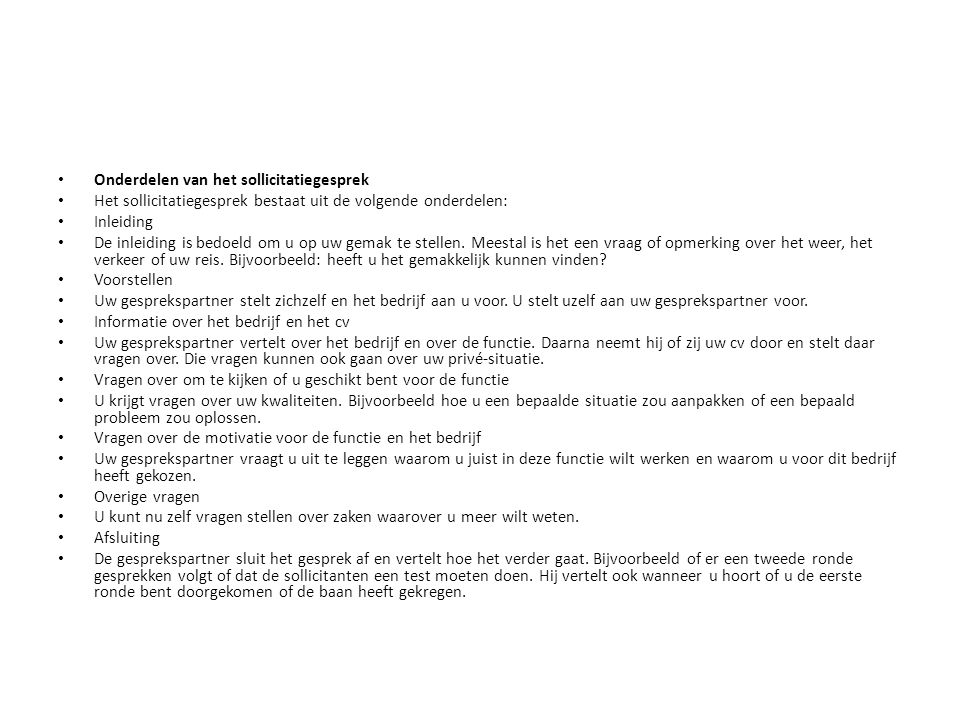 motivatiebrief inleiding Solliciteren! Een vak op zich.   ppt download motivatiebrief inleiding
