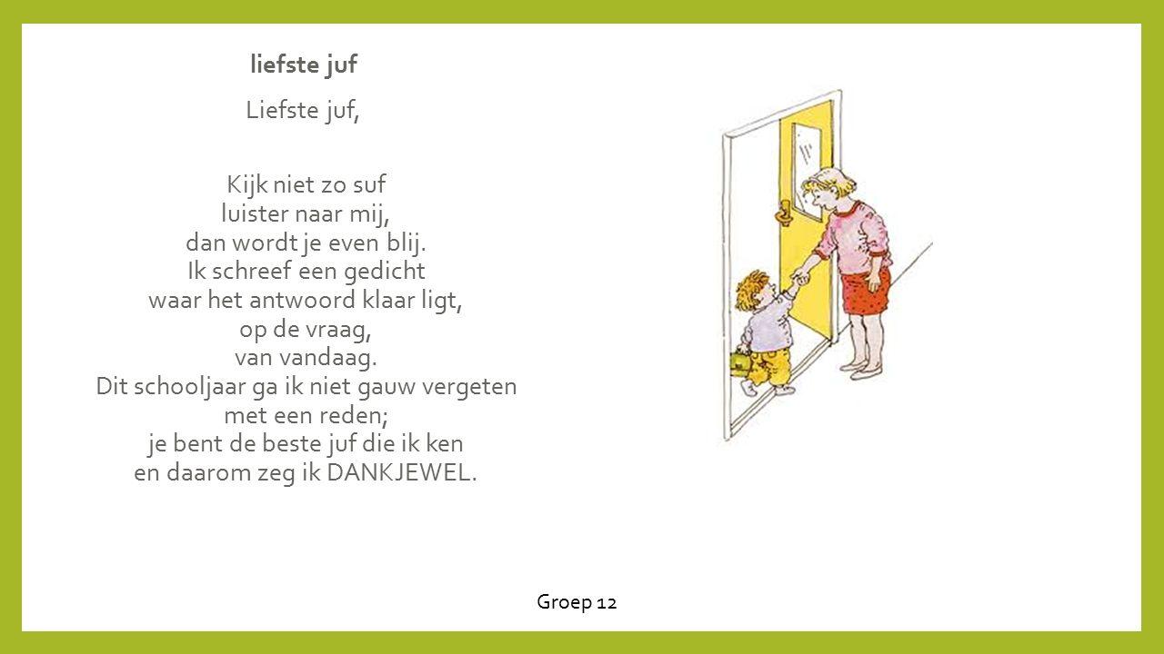 Favoriete Gedichten Juf Bedankt TC95   Belbin.Info @QA77