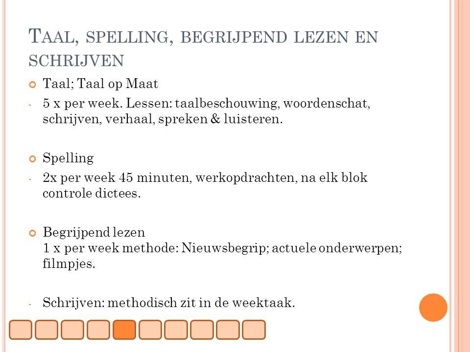 Bedwelming Taal Op Maat Groep 5 Werkbladen   Parksidetraceapartments #EF12