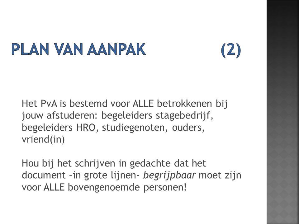 schrijven plan van aanpak Project voorbereiding (V+MAFP20R4)   ppt download schrijven plan van aanpak